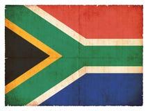 νότος σημαιών της Αφρικής grunge Στοκ φωτογραφία με δικαίωμα ελεύθερης χρήσης