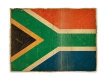 νότος σημαιών της Αφρικής grunge Στοκ εικόνα με δικαίωμα ελεύθερης χρήσης