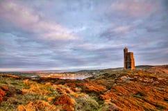 Νότος του Isle of Man με τον πύργο Milner στοκ φωτογραφίες με δικαίωμα ελεύθερης χρήσης