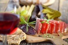 νότος Τυρολέζος πρόχειρ&omega Στοκ Εικόνα