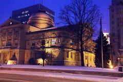 νότος χιονοθύελλας κάμψ&ep Στοκ εικόνες με δικαίωμα ελεύθερης χρήσης