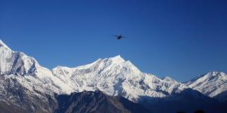Νότος Annapurna από Tadopani Νεπάλ Στοκ εικόνες με δικαίωμα ελεύθερης χρήσης