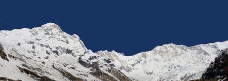 Νότος & Annapurna Ι Annapurna Στοκ Φωτογραφία