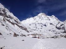 Νότος Annapurna και στρατόπεδο βάσεων - Νεπάλ Στοκ Εικόνα