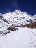 Νότος Annapurna και στρατόπεδο βάσεων - Νεπάλ Στοκ φωτογραφία με δικαίωμα ελεύθερης χρήσης