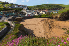 Νότος Devon Αγγλία UK όρμων ελπίδας κοντά σε Kingsbridge και Thurlstone Στοκ Εικόνες