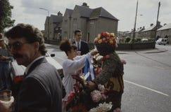 Νότος Queensferry Σκωτία UK ατόμων Burry Στοκ Φωτογραφίες