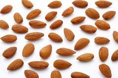 νύξεων Καρύδια αμυγδάλων, ακατέργαστα τρόφιμα στοκ φωτογραφία με δικαίωμα ελεύθερης χρήσης
