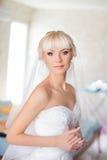 Νύφη αμοιβών στη ημέρα γάμου Στοκ φωτογραφία με δικαίωμα ελεύθερης χρήσης