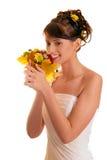 νύφη ανθοδεσμών φθινοπώρο&ups Στοκ εικόνα με δικαίωμα ελεύθερης χρήσης