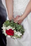 νύφη ανθοδεσμών Στοκ Εικόνα