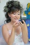 νύφη αρκετά Στοκ Εικόνες