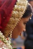 Νύφη - γάμος Ινδία Στοκ Φωτογραφία