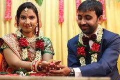 Νύφη - γάμος Ινδία Στοκ φωτογραφία με δικαίωμα ελεύθερης χρήσης