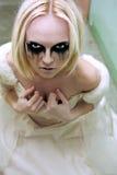 νύφη γοτθική Στοκ Φωτογραφίες