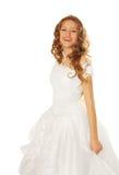 νύφη ευτυχής Στοκ εικόνα με δικαίωμα ελεύθερης χρήσης