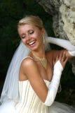 νύφη ευτυχής Στοκ εικόνες με δικαίωμα ελεύθερης χρήσης