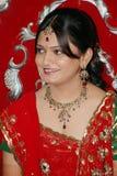νύφη Ινδός Στοκ εικόνες με δικαίωμα ελεύθερης χρήσης