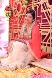 νύφη ινδή Στοκ Εικόνες