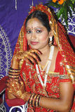 νύφη Ινδός Στοκ Εικόνα
