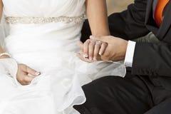 Νύφη και νεόνυμφος Στοκ Φωτογραφία