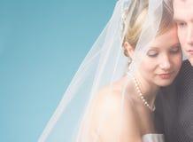 Νύφη και νεόνυμφος Στοκ Εικόνα
