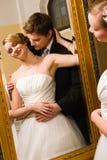 Νύφη και νεόνυμφος Στοκ εικόνα με δικαίωμα ελεύθερης χρήσης