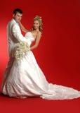 Νύφη και νεόνυμφος Στοκ εικόνες με δικαίωμα ελεύθερης χρήσης