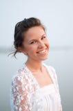 νύφη παραλιών ρομαντική Στοκ φωτογραφία με δικαίωμα ελεύθερης χρήσης