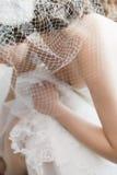 Νύφη που παίρνει έτοιμη Στοκ Φωτογραφία