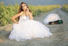 Νύφη δραπέτη στοκ φωτογραφία με δικαίωμα ελεύθερης χρήσης