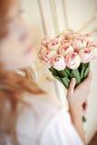 Νύφη στην κρεβατοκάμαρα Στοκ Εικόνα