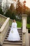 Νύφη στη χώρα Στοκ Φωτογραφίες