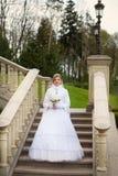 Νύφη στη χώρα Στοκ φωτογραφία με δικαίωμα ελεύθερης χρήσης
