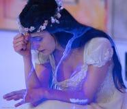 νύφη λυπημένη Στοκ Εικόνα