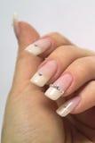 νύχια Στοκ εικόνα με δικαίωμα ελεύθερης χρήσης