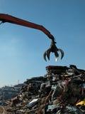 νύχι junkyard Στοκ φωτογραφία με δικαίωμα ελεύθερης χρήσης