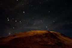 νύχτα έναστρη Στοκ Φωτογραφία
