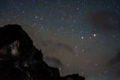 νύχτα έναστρη Στοκ εικόνα με δικαίωμα ελεύθερης χρήσης