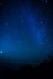 νύχτα έναστρη Στοκ φωτογραφία με δικαίωμα ελεύθερης χρήσης