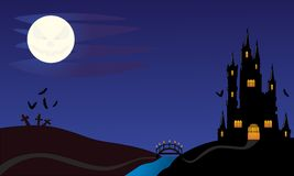 νύχτα αποκριών στοκ εικόνα με δικαίωμα ελεύθερης χρήσης