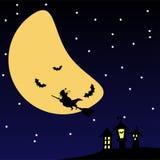 νύχτα αποκριών scary διανυσματική απεικόνιση