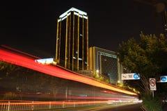 Νύχτα αρχιτεκτονικής Στοκ φωτογραφία με δικαίωμα ελεύθερης χρήσης