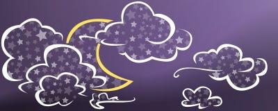 Νύχτα αστεριών Στοκ Εικόνα