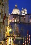 νύχτα Βενετία Στοκ φωτογραφία με δικαίωμα ελεύθερης χρήσης