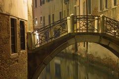 νύχτα Βενετία Στοκ φωτογραφίες με δικαίωμα ελεύθερης χρήσης
