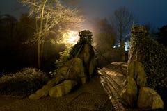 νύχτα γεφυρών Στοκ εικόνα με δικαίωμα ελεύθερης χρήσης