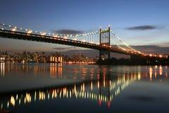 νύχτα γεφυρών Στοκ Εικόνα