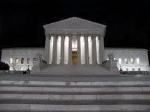 νύχτα δικαστηρίων ανώτατη Στοκ Εικόνες