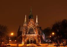 νύχτα εκκλησιών Στοκ φωτογραφίες με δικαίωμα ελεύθερης χρήσης
